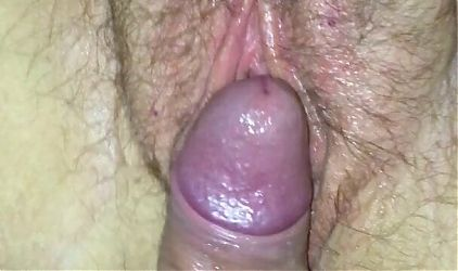 Thick stepmother takes cum into hairy pussy