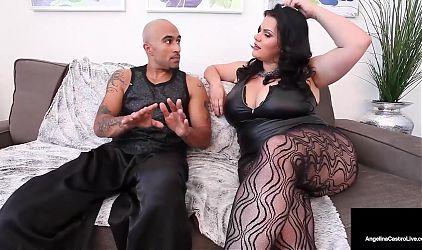 Cuban Femdom Angelina Castro And Big Dick Dom Fuck Sara Jay!