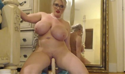 Huge tits blonde - Who is she? please let me know