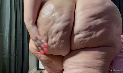 Bbw sloppy booty big